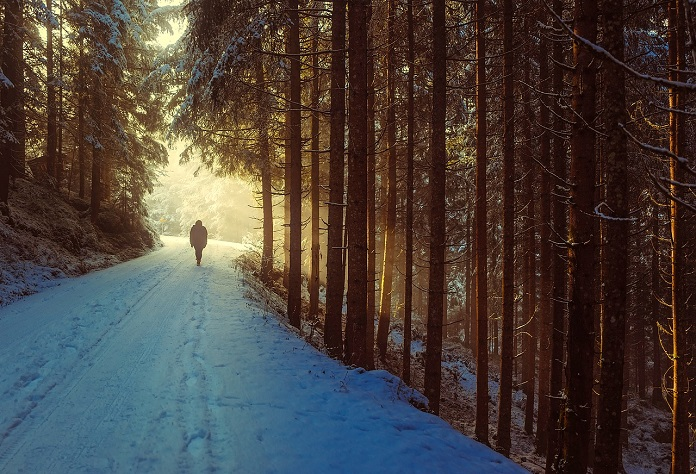 procházky a hubnutíí