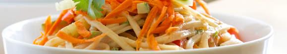 Úspěšná dieta se zeleninovými nudlemi