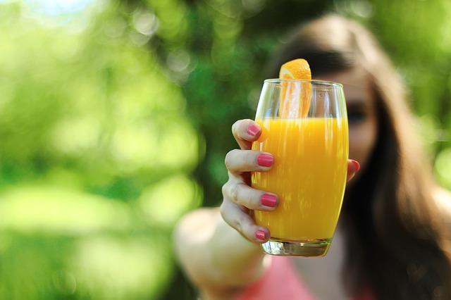 pomerančová šťáva