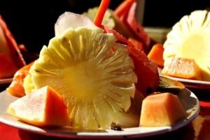 ananas s papájou