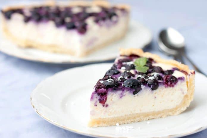nepečený dort s tvarohem