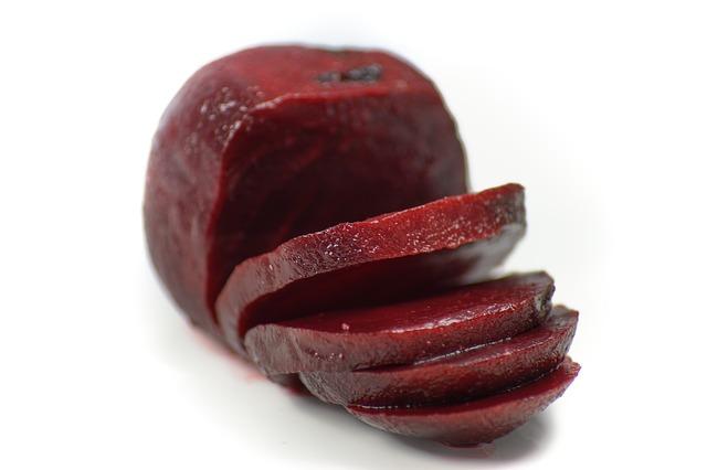 pečená červená řepa