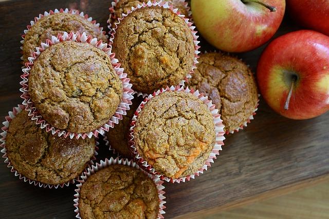 zdravé muffiny z cizrnové mouky