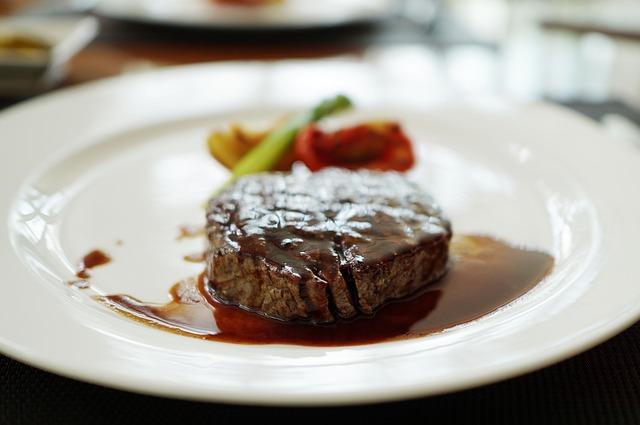 lahodný steak