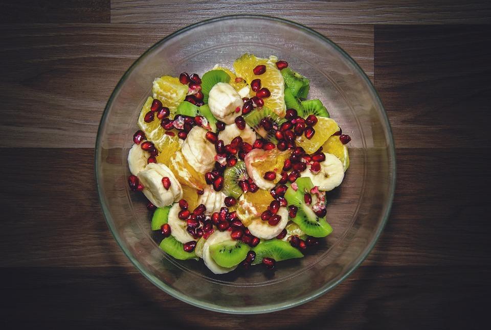 ovocný salát s goji