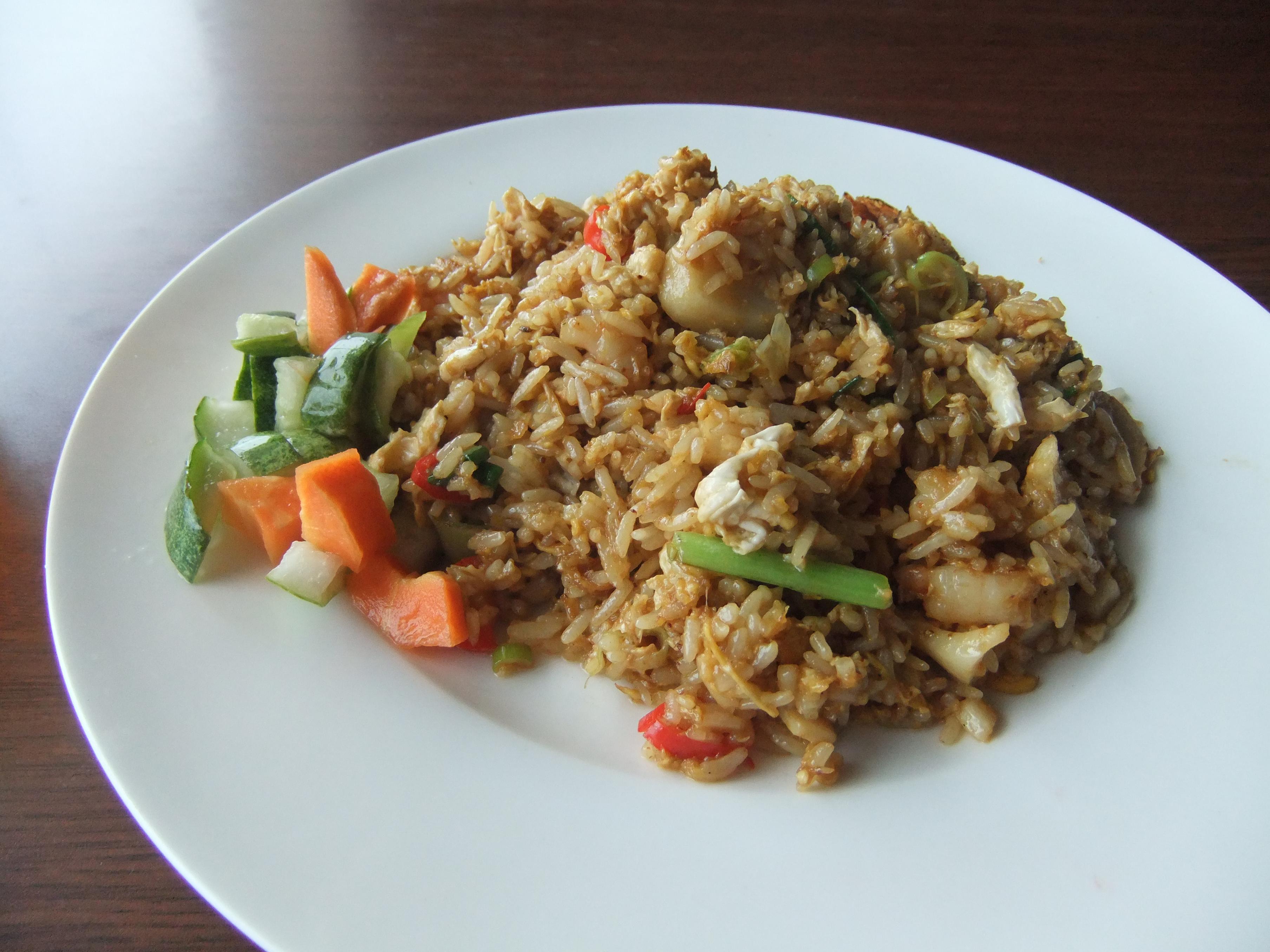 rizoto s krůtím masem a zeleninou