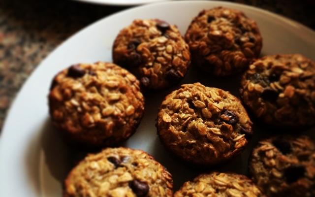 Domácí muffiny bez mouky