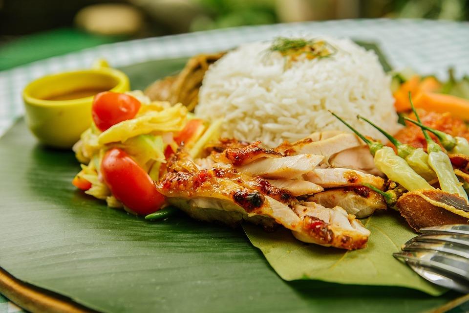 králík s rýží a seleninou