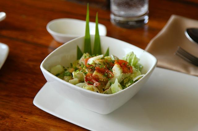 zdravý celerový salát