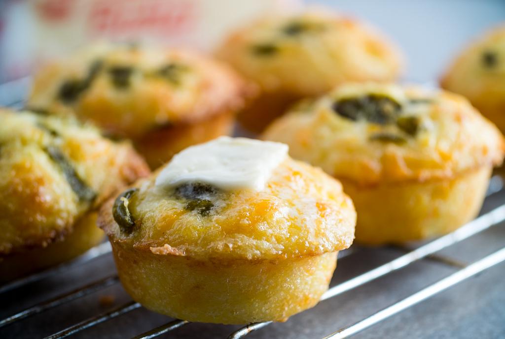 slané muffiny se sýrem a zeleninou