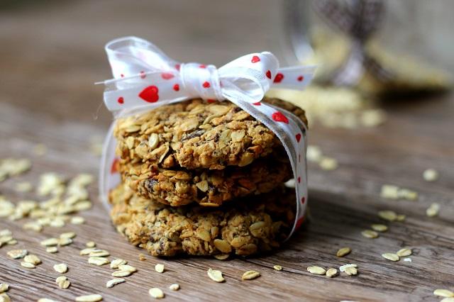 Arašídové sušenky s ovesnými vločkami