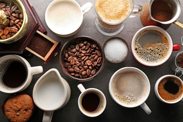 60 druhů kávy
