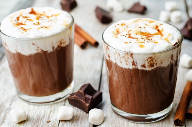 horká čokoláda a antioxidanty