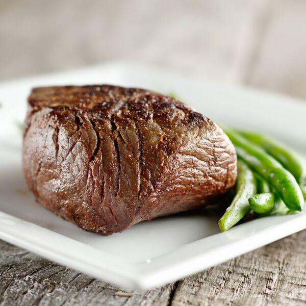 Hovězí steak s fazolovými lusky