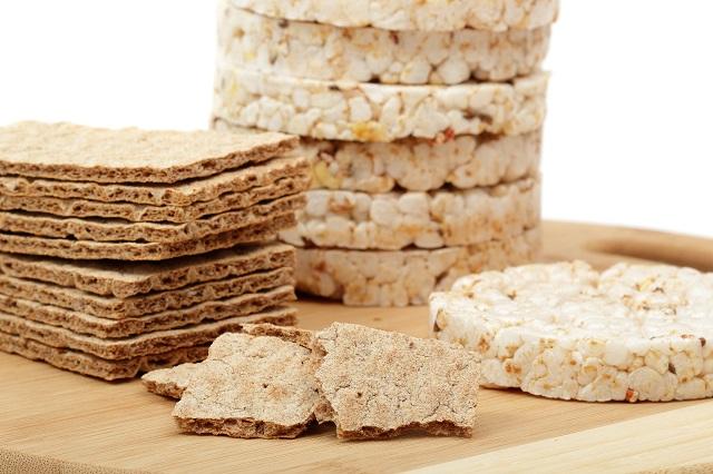 rýžové a kukuřičné chlebíky