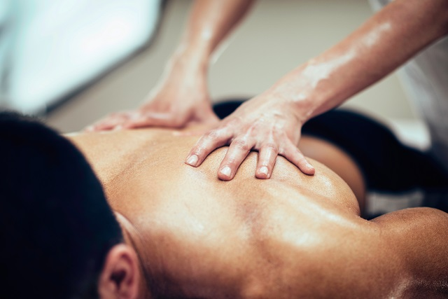 návod na masáž zad