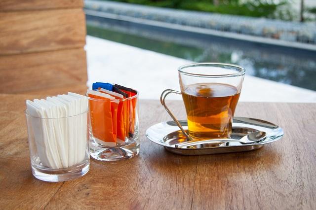 slazený čaj