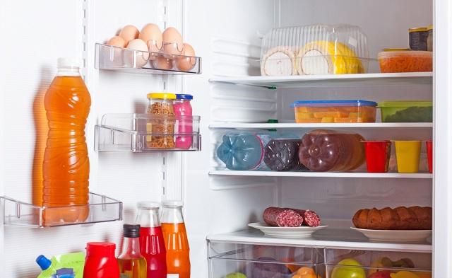 nezdravé jídlo z lednice