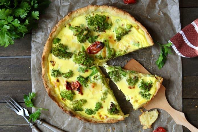 brokolicový nákyp se sýrem