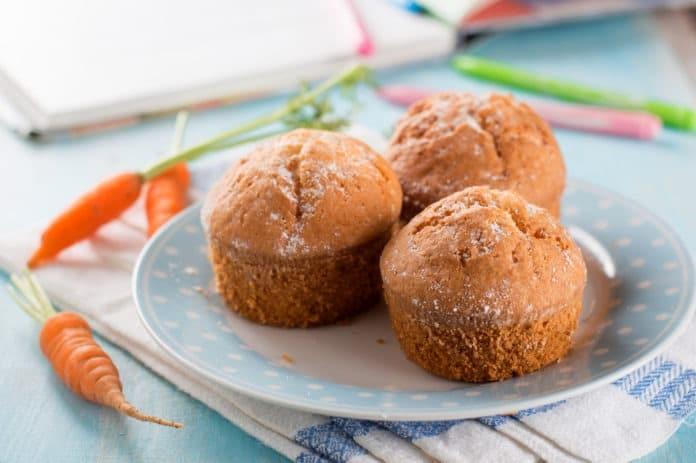 mrkvový muffin