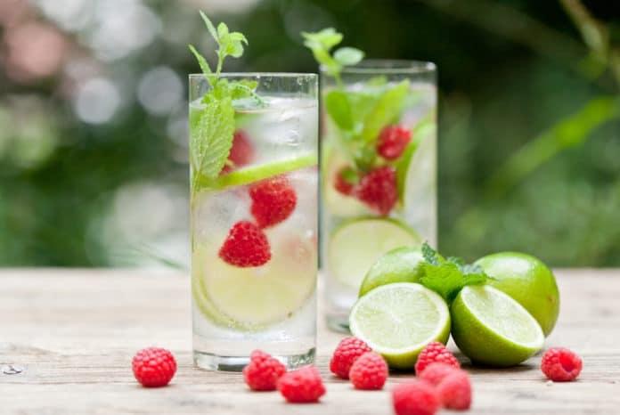 svěží letní drink