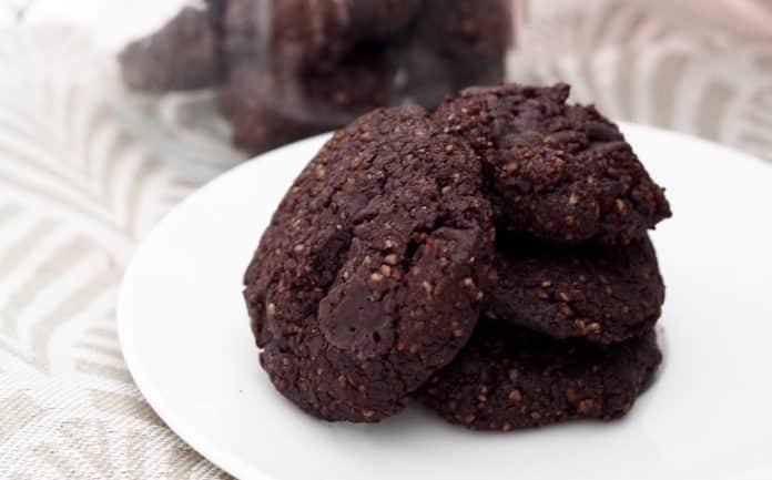 bezlepkové čokoládové sušenky