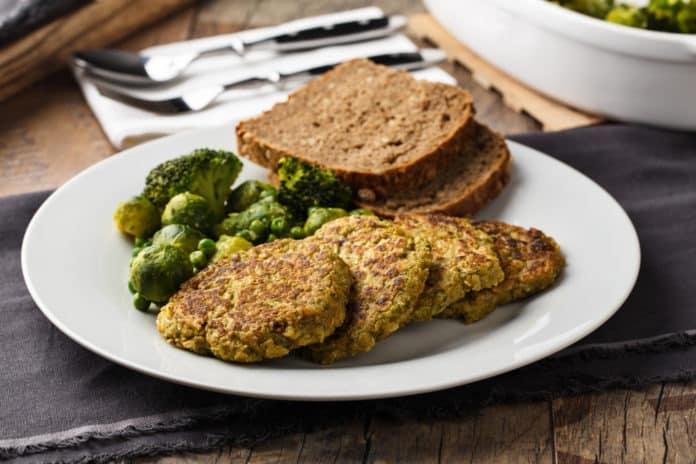 tofu karbanátky s brokolicí