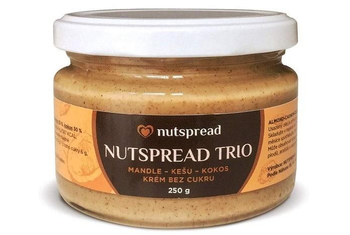 trio kešu-kokos-mandle
