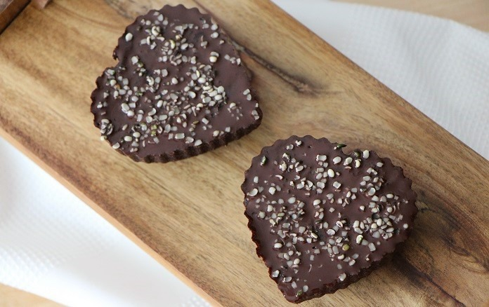datlové brownies