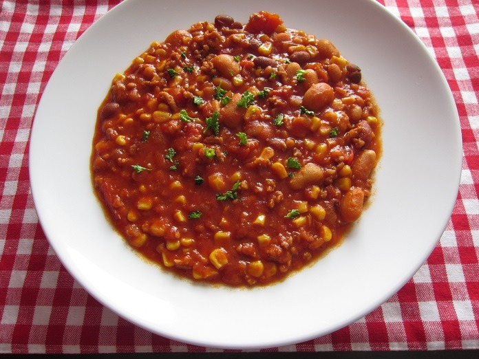 lehké chilli con carne