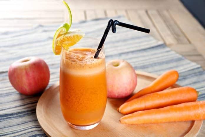 mrkvovo-jablečná šťáva