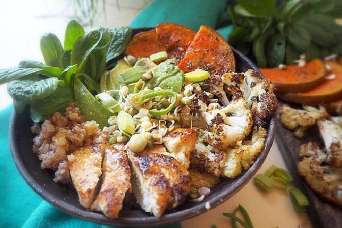 salát bowl