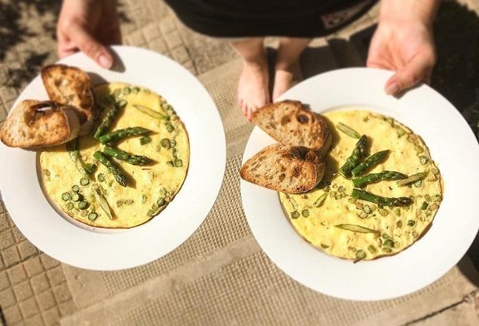 Snídaňová omeleta podle Lenky