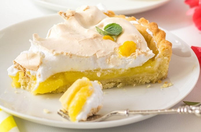 francouzský citrónový tart