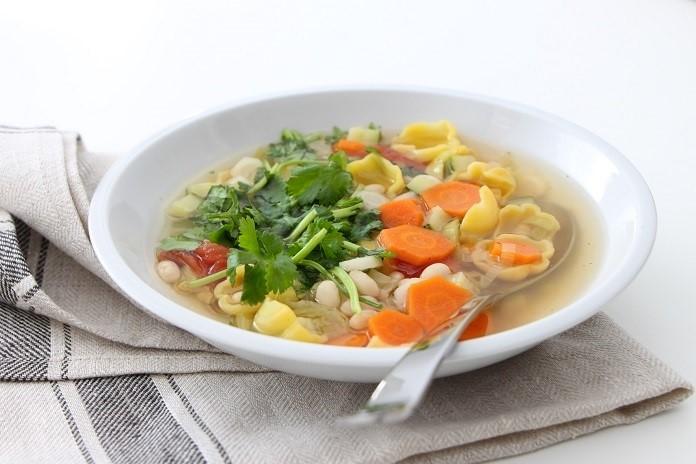 babiččina fazolová polévka