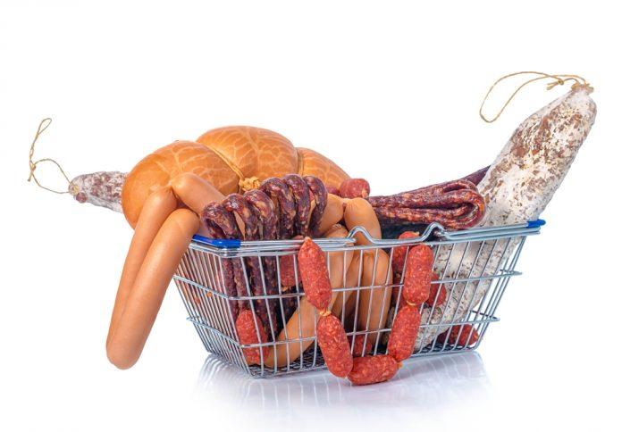 potraviny s obsahem purinů