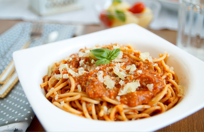 fitness špagety od Bajoly