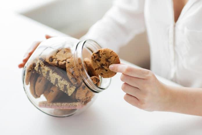 sladkosti s vysokým obsahem tuku