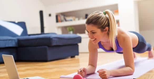 Online cvičení doma