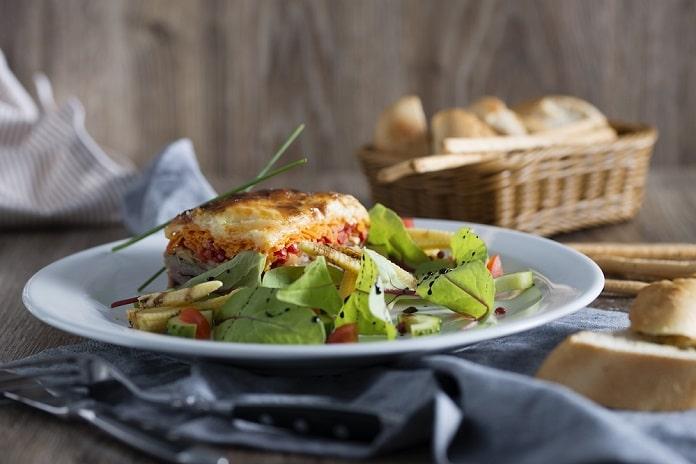 rychlé špenátové lasagne