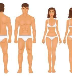 Ideální váha podle výšky a věku
