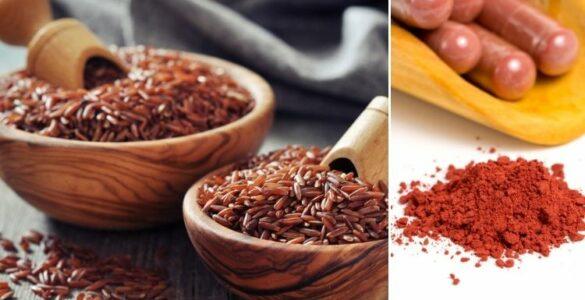 Červená rýže a červená fermentovaná rýže: Pomoc s vysokým cholesterolem