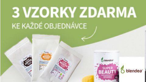 3 vzorky zdarma ke každé objednávce na Blendea.cz