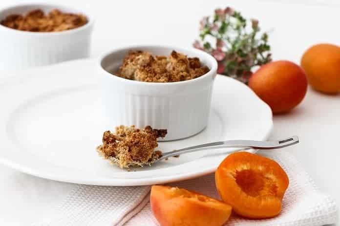 meruňkový koláč bez lepku