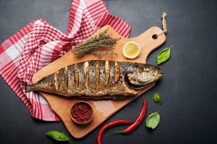 hořčík v mase a rybách