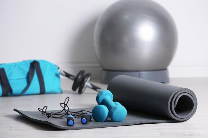 cvičební pomůcky