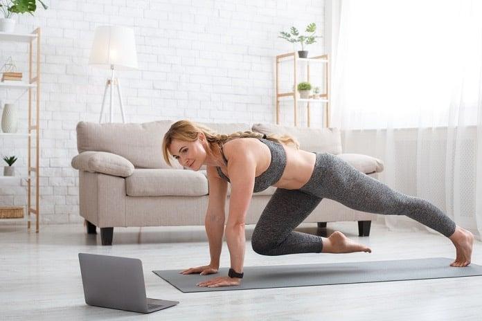 cvičení online