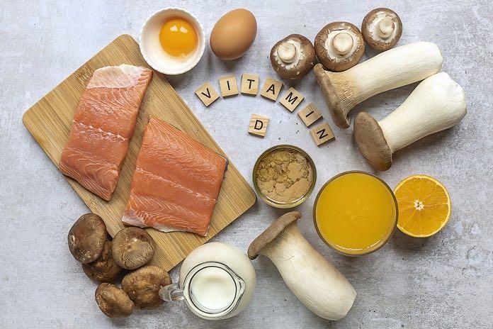 vitamin D - potraviny