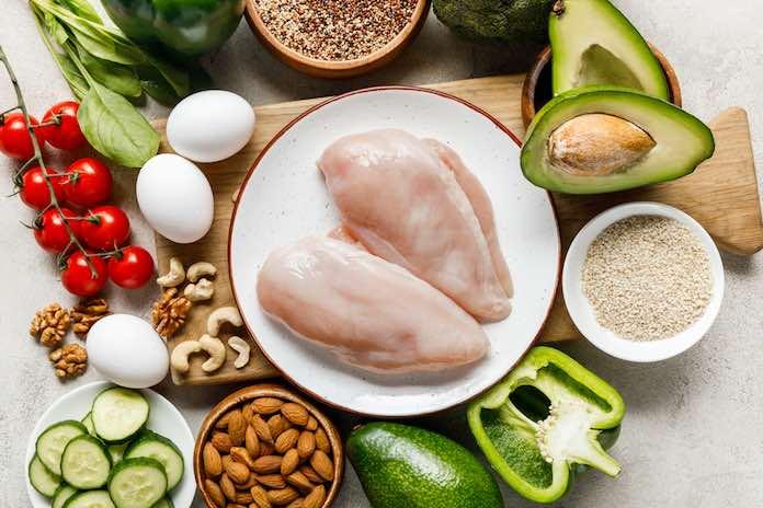 low carb dieta - potraviny