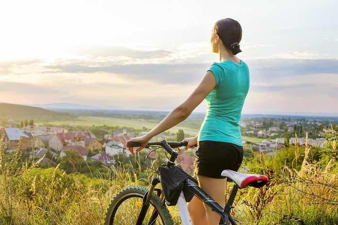 cyklistika - kopec